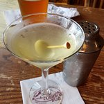 spicy dirty martini and IPA