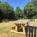 Great pub garden