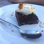 Brick thick base to chocolate tart