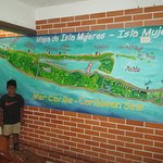 Map of Isla Mujeres ...happy times !