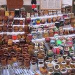Puesto de mates del mercado de San Telmo