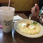 Eggs and grits