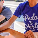 Who's ready to #pedalnparty, Covington?!