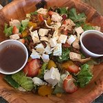 Savory summer salad