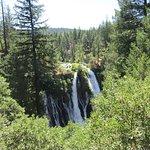 The main Falls below