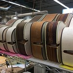Guitars in production (photo #4)