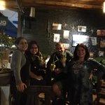 Aquí estamos con la dueña del Restaurant, Daniela, realmente encantadora, gracias por todo!!