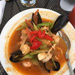 My cioppino for lunch