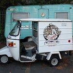 Voodoo Doughnut Golf Cart