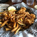 halibut fish and chips