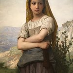 """Young Girl"" by Bouguereau (my favorite)"