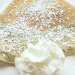 My favorite - lemon curd crepe