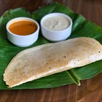 Godhi Dosa / Wheat Dosa served at Time Traveller Restaurant!
