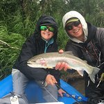 One of MANY rainbows landed.... Thanks Chace!