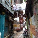 Find us opposite Bona Cafe in Bangali Tola