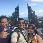 Tanah Lot Temple with Wayan