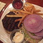 underdone burger tepid fries