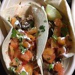 Jerk Chicken Tacos w/Mango Salsa