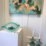 Original Paintings, Blown Glass and Ceramics