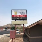 Copper Kettle Sign on Business Hwy 80