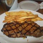 Sirloin Steak and fries