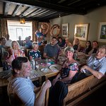 Family gathering at the Fox and Goose....