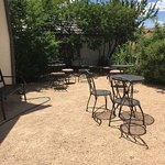 Patio for coffee and conversation!