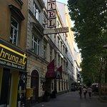 Hotel Wien from Praterstern