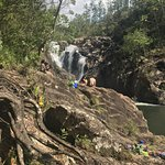 Big Rock Waterfall and cliff diving