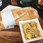 The falafel pitta
