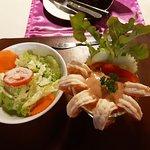 Salad & Shrimp Cocktail