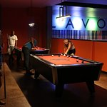 Four Pool Tables