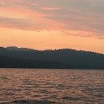 A colorful Lake Tahoe sunset