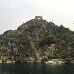 Fannette Island in Emerald Cove