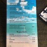 Waterline Menu - Dessert