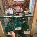 Beautiful rock displays