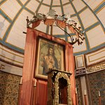 Inside Cataldo Mission Church