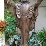 Statue of Christ in the Garden