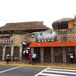 Margaritaville from the street side.