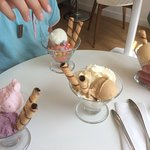 Our selection of delicious gelato