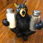 Adorable Salt & Pepper Shaker Holder