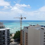 Waikiki Beach from one of the front facing rooms - 18th floor