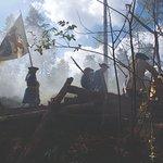 Återskapande av slaget vid stäket 1719