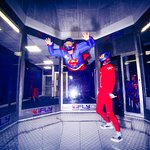 iFLY Indoor Skydiving Milton Keynes , remember to breathe - relax and HAVE FUN !!! T I A G O !!!