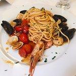 Spaghetti allo scoglio: consigliati!