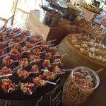 Piatti e ambienti di Corte Barco
