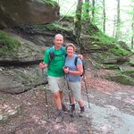 We had a great time hiking in the National Parks near Arezzo.