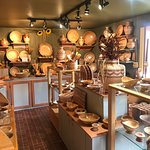 Beautiful woodshop and store.