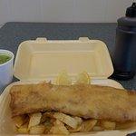 My Fish and Chips +Mushy Peas
