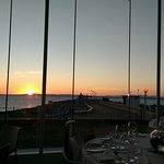 View from the sun-terrace restaurant, on a summer's evening
